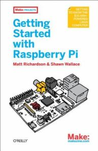 Getting started with Raspberry Pi book cover