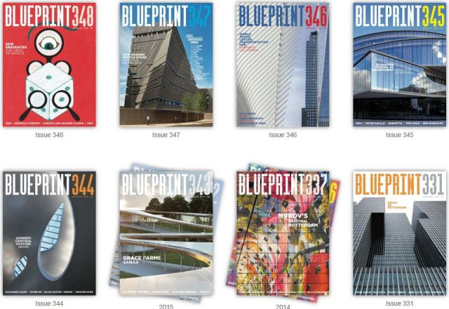 Blueprint architecture magazine now available online university blueprint magazine online malvernweather Image collections