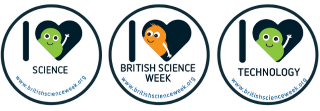 British Science Week stickers