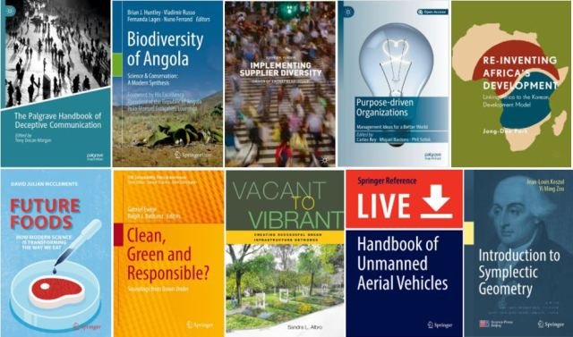 Springer 2019 e-books