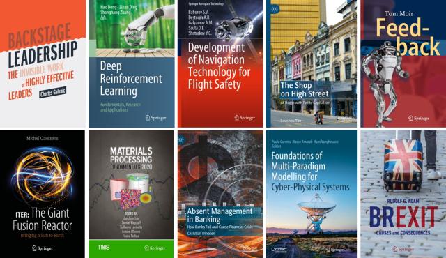 Springer 2020 E-Book Covers